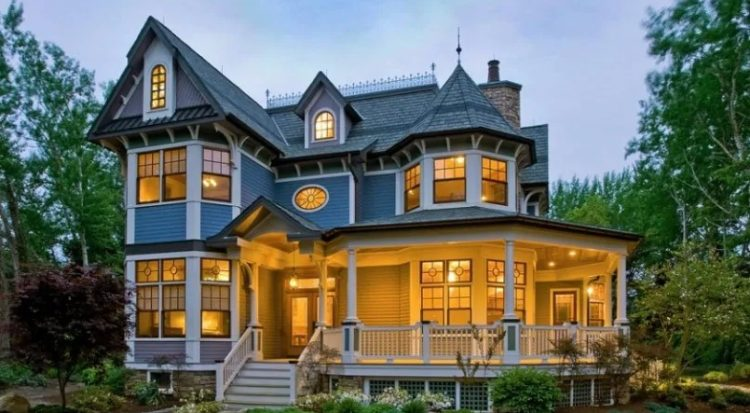 gothic victorian house
