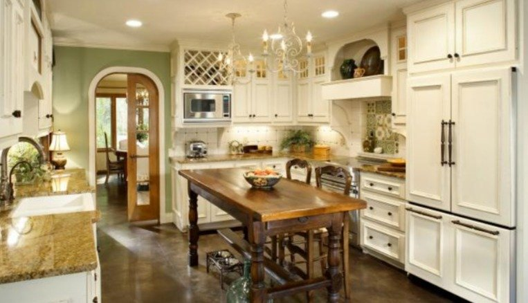The Key Characteristics That Define A French Country Kitchen