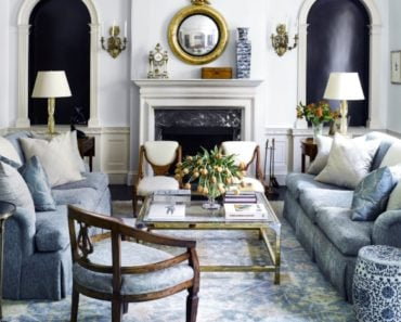 The Key Characteristics That Define a French Country Living Room