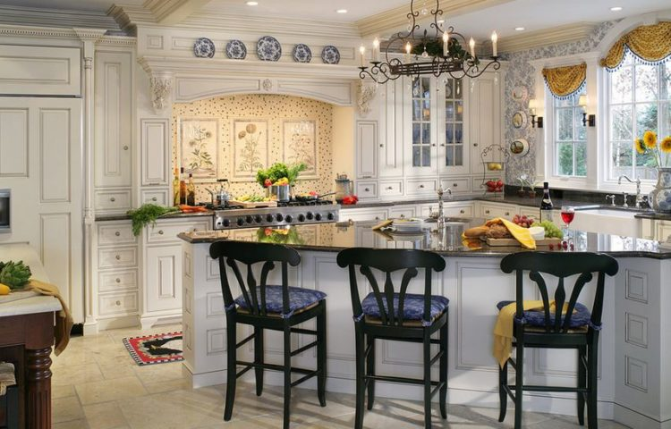 20 Beautiful Examples Of French Country Kitchens
