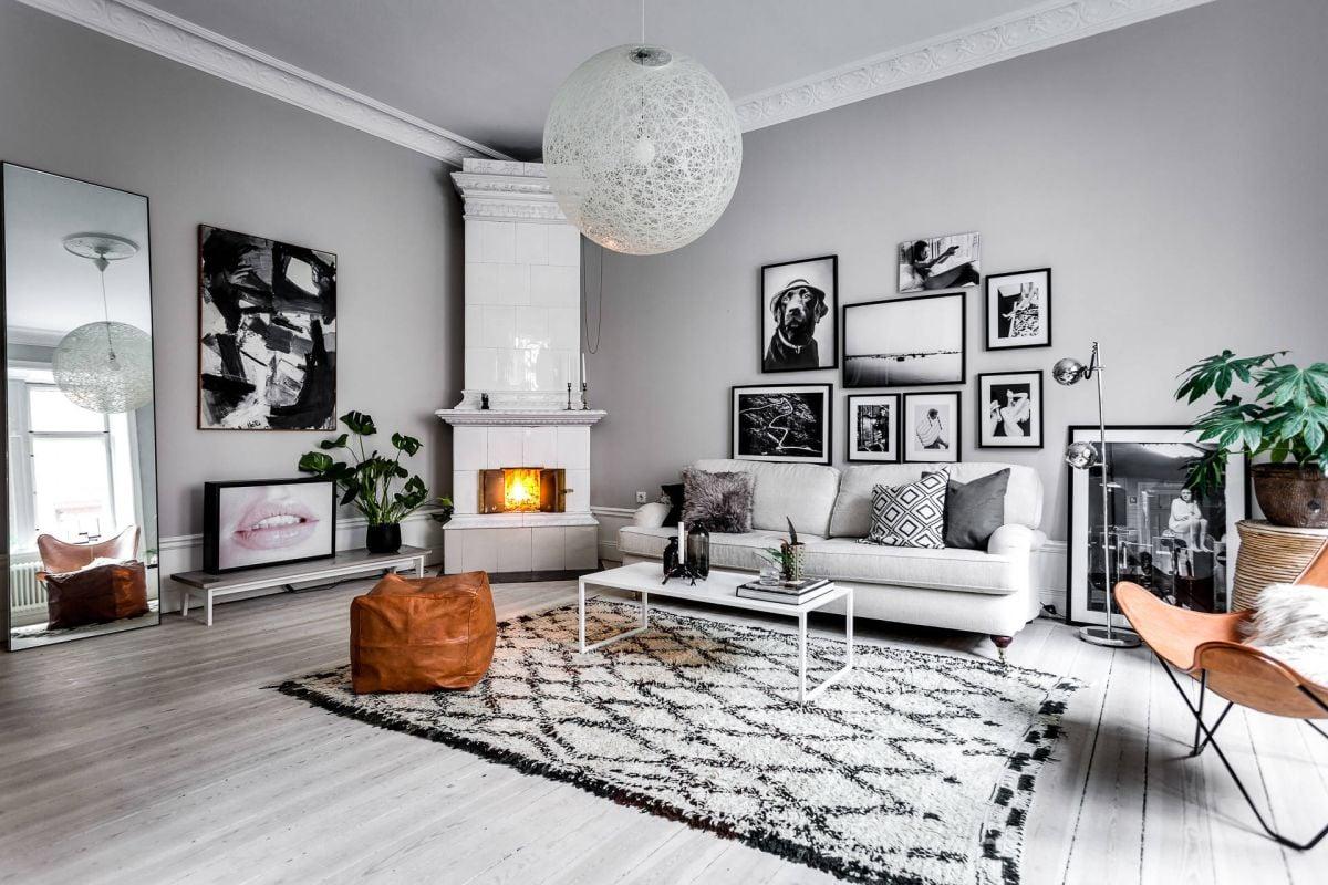 The Key Characteristics of a Scandinavian Living Room