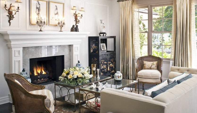 What Is A Transitional Living Room, Transitional Living Rooms
