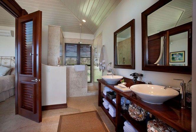 Caribbean Villa Bathroom