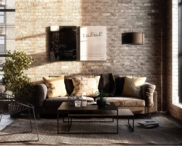 The Key Characteristics of an Industrial Living Room