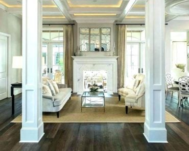 20 Beautiful Uses of Decorative Columns Inside The Home