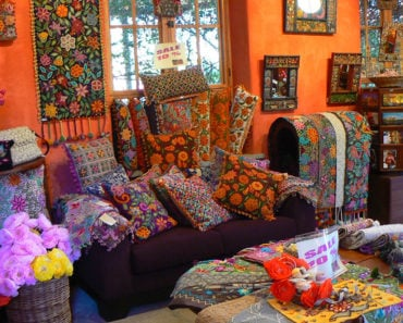 Peruvian Living Room