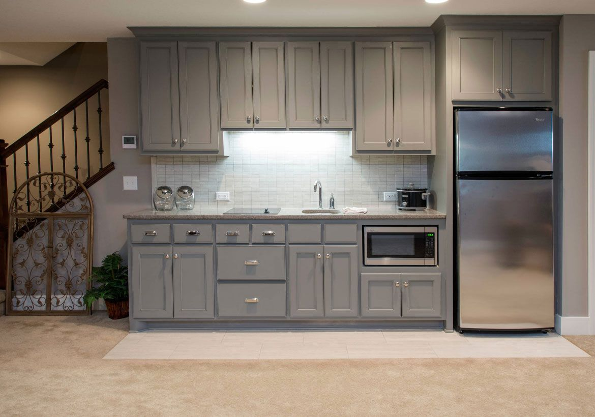 How To Create The Perfect Basement Kitchenette