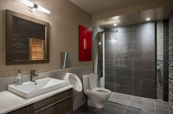 20 Gorgeous Basement Bathroom Ideas, Small Basement Bathroom Ideas