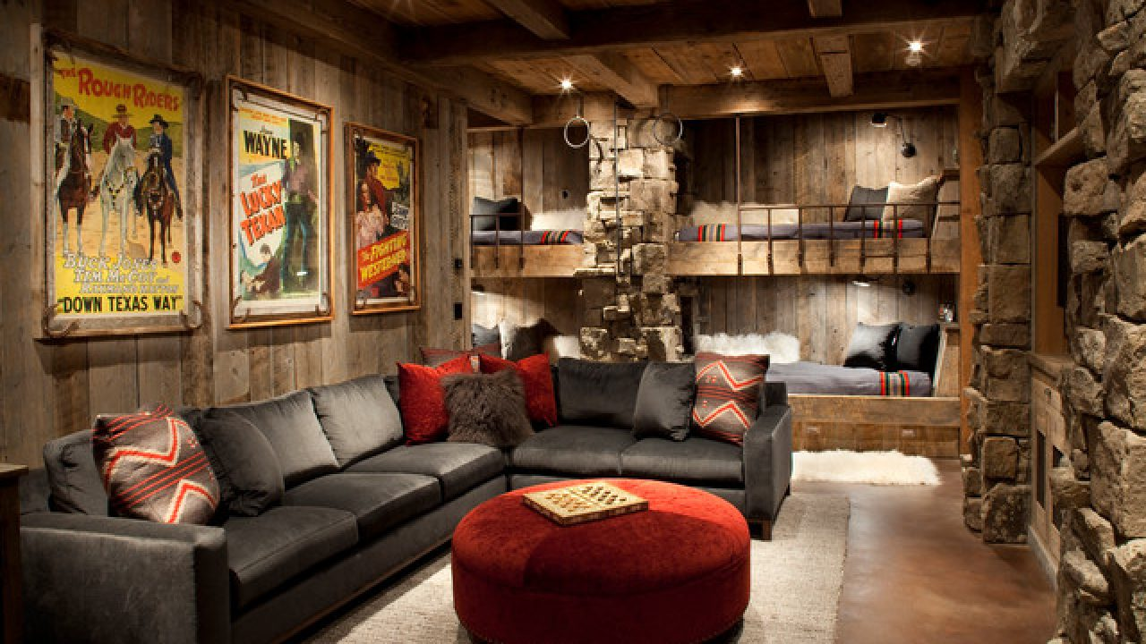 20 Beautiful Examples Of A Rustic Living Room