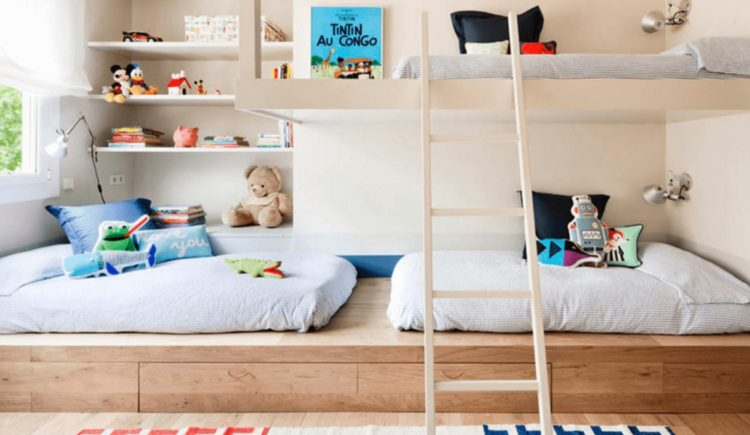 Shared Kids Bedroom