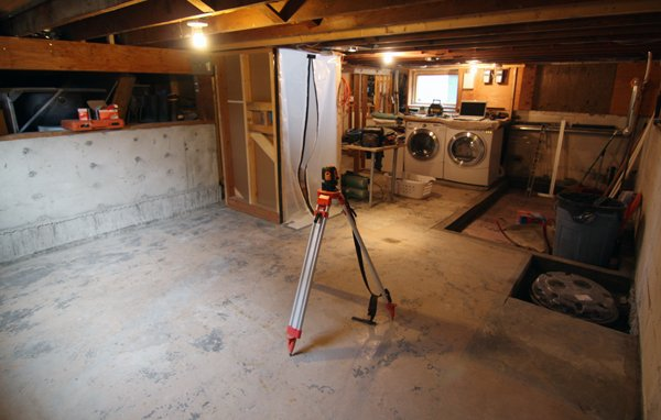 Slab Basement