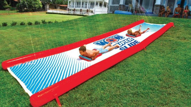 Backyard Waterslide
