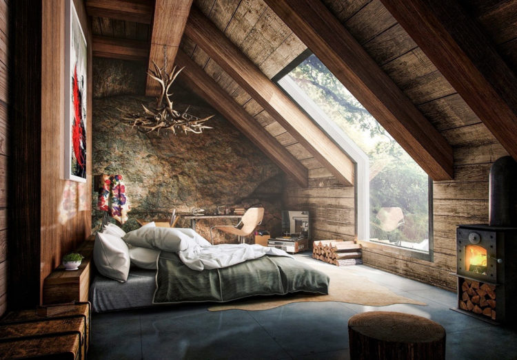20 Gorgeous Rustic Bedroom Ideas