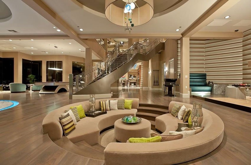 20 Gorgeous Examples Of Sunken Living Rooms