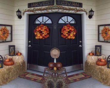 20 Awesome Thanksgiving Porch Decor Ideas