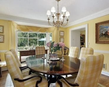 20 Awesome Yellow Dining Room Ideas