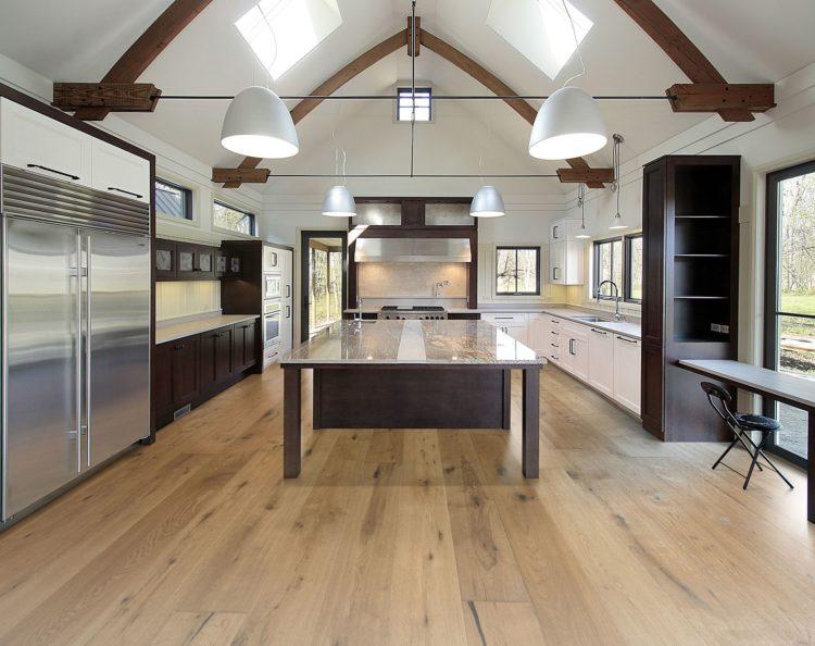 20 gorgeous kitchens incorporating engineered hardwood