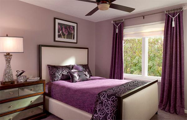 20 Gorgeous Purple Master Bedroom Designs