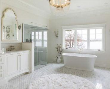 20 Beautiful White Bathroom Ideas