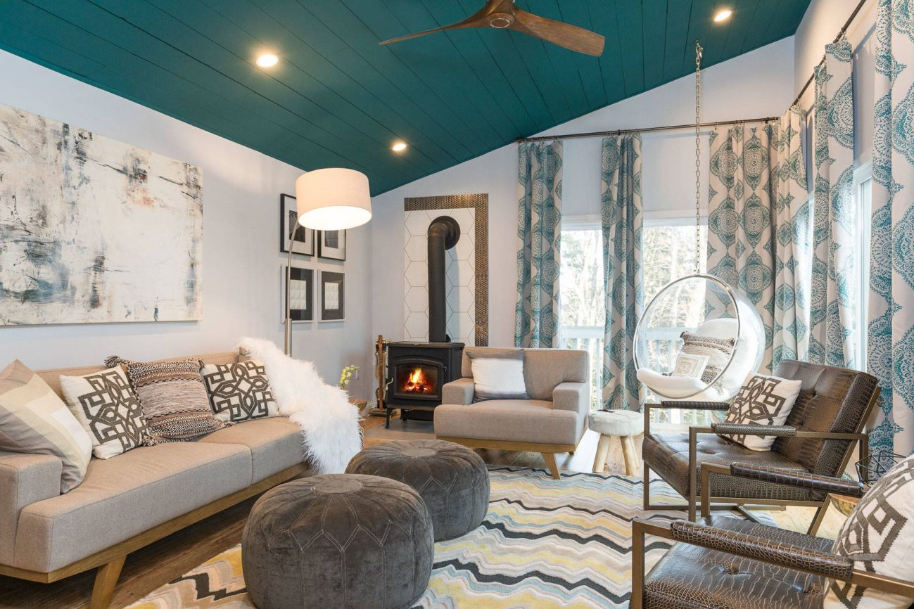 20 Gorgeous Examples Of A Teal Living Room, Teal Living Room