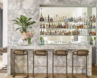 How to Turn Your Living Room Into a Bar