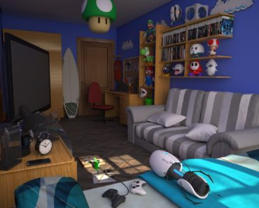 10 Essentials for the Perfect Gamer Bedroom
