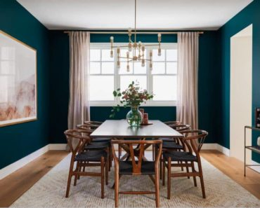 10 Essentials You Need for a Beautiful Teal Dining Room