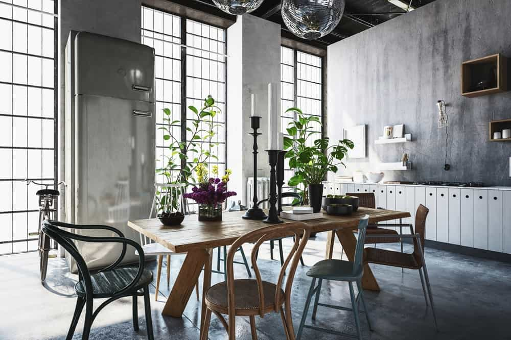 10 Essentials For The Perfect Industrial Dining Room