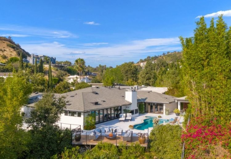 Chrishell Stause Hollywood Hills House