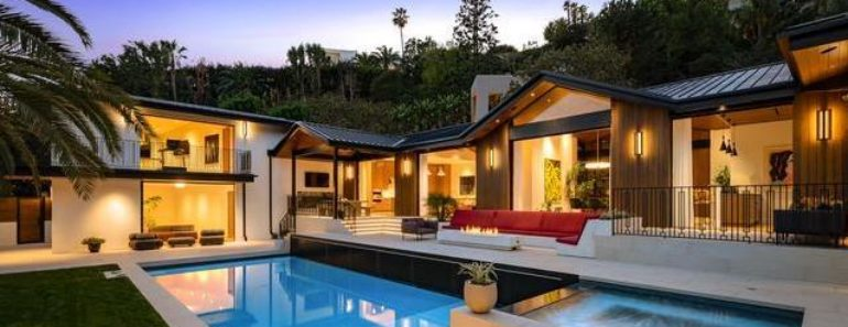 Louis Bell Drops $12 Million on Stylish Beverly Hills Estate