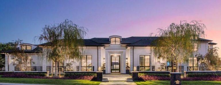Justyn Howard Pays $30 Million for Calabasas Mansion
