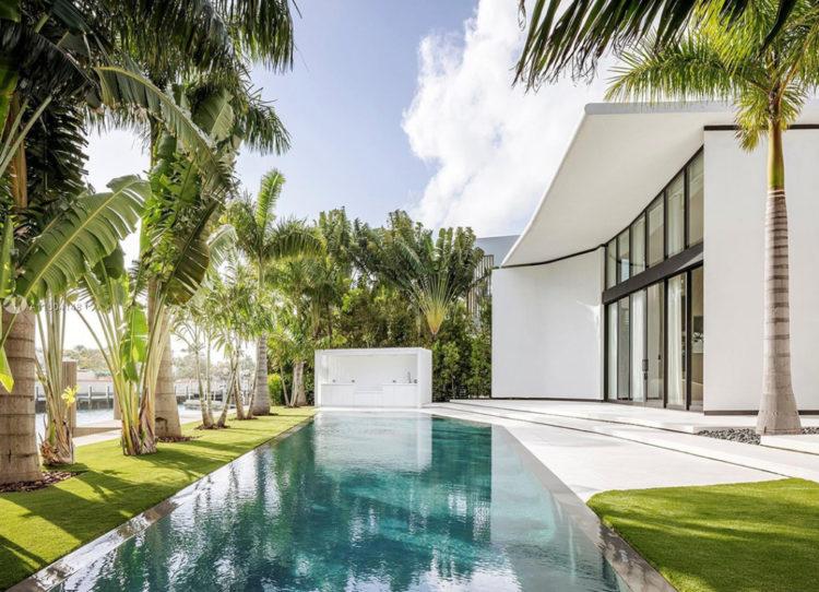 Achille Salvagni Miami beach designed Home