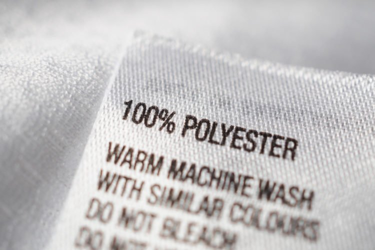 polyester label